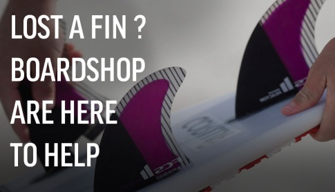 Lost A Surfboard Fin ?
