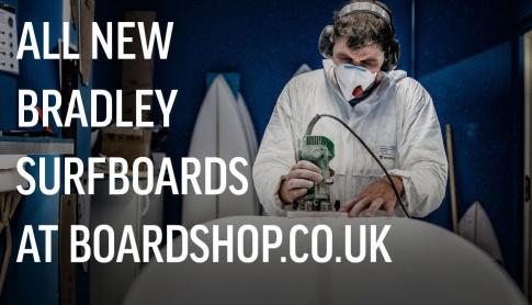 Bradley Surfboards Have Arrived