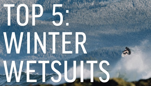 Top 5: Winter Wetsuits
