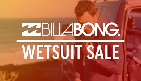 Billabong Wetsuit Sale