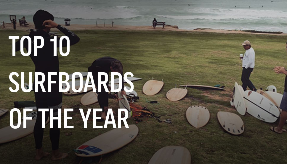 Top 10 Surfboards Of The Year - Boardshop.co.uk