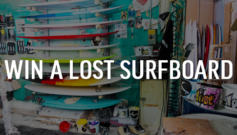 Win A Lost Surfboard