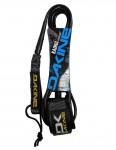 DaKine Kainui Longboard Ankle surfboard leash 10ft - Black