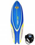 California Board Company Sushi Fish Soft Surfboard 6ft 2 - Blue/Yellow/White