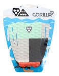 Gorilla Mojo surfboard tail pad - Chunks