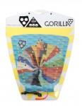 Gorilla Wilko surfboard tail pad - Hyper