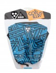 Gorilla Kai Angles Surfboard Tail pad - Blue