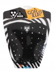 Gorilla Kai Blacker Surfboard Tail pad - Black