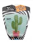 Gorilla Rozsa Cactus surfboard tail pad - Green