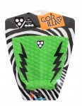 Gorilla Kyuss King Pop Pow surfboard tail pad - Green