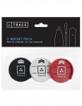 Trace Mount Three Pack - Multi Colour