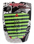 Astrodeck Danny Fuller Surfboard Tail Pad - Black/Green