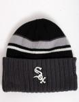 New Era Prep Class Chicago White Sox Cuff beanie - Charcoal/Black