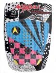 Astrodeck John John surfboard Tail Pad - Multi