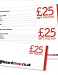 Boardshop BS Gift 25 Twenty five pound gift voucher