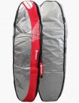 Beyond 4-Trekker 12mm Coffin Surfboard bag 7ft 1 - Grey/Red