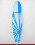 Cortez Surfboards Grom Surfboard 6ft 6 - Blue Sunrise