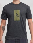 Firewire Silhouette T shirt - Charcoal Heather