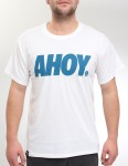 Hold Fast Ahoy T Shirt - White