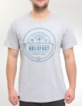 Hold Fast Electric Wave T Shirt - Heather Grey