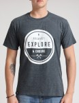 Hold Fast Endure T shirt - Charcoal