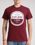 Hold Fast Endure T shirt - Merlot