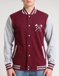 Hold Fast Frat Baseball jacket - Merlot