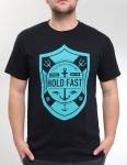Hold Fast Cold Water Shield T Shirt - Black