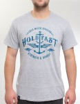 Hold Fast Swell T Shirt - Heather Grey