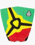 Komunity Project Icon 3 piece Tail pad - Rasta