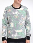Hurley Flammo Crew sweat - Electric Green