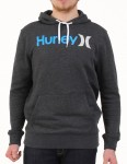 Hurley One and Only 2 Colours Hoody - Heather Black