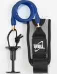 Gyroll Coiled Bicep Bodyboard leash - Blue