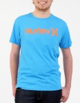 Hurley One and Only Seasonal T shirt - Photo Blue