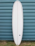 Nohana by Nineplus Magic Carpet Classic Surfboard 7ft 6 - Clear