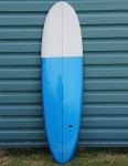 Nohana by Nineplus Magic Carpet Resin Tint Surfboard 6ft 8 - Blue