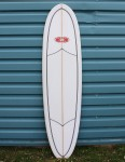 Nineplus Magic Carpet (Volan Wrapper) Surfboard 7ft 2 - Clear