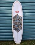 Nineplus Magic Carpet Surfboard 6ft 8 - Floral