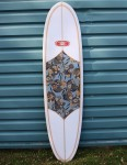 Nineplus Magic Carpet Surfboard 6ft 10 - Floral