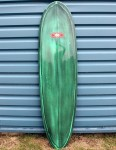 Nineplus Magic Carpet Surfboard 6ft 10 - Green resin tint