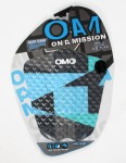 On A Mission Alex Gray Tail pad - Shattered Blue/Teal