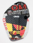 On A Mission Jordy Smith Tail pad - Red/Yellow