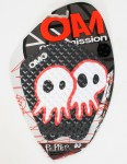 On A Mission Pepper Tail pad - Black/White/Red