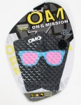 On A Mission Sterling Spencer Hot Shade Tail pad - Black Pink Sunnies