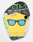 On A Mission Sterling Spencer Hot Shade Tail pad - Yellow Blue Sunnies