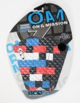 On A Mission Torrey Meister Tail pad - Blue/Blk/Red/Wht