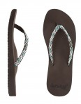 Reef Ginger Drift Ladies Flip flop - Brown/Aqua/White