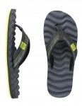 Reef Swellular Cushion 3D Flip flops - Navy/Green