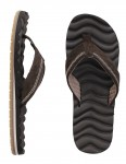 Reef Swellular Cushion 3D Leather Flip flops - Brown