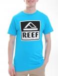 Reef Classy Block T shirt - Turquoise